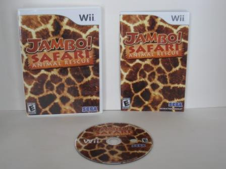 Jambo! Safari Animal Rescue - Wii Game